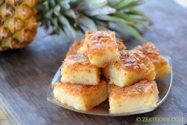 Bibingka - Filipino Coconut Cake